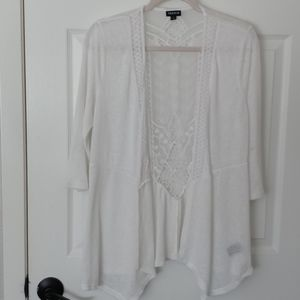 Torrid white light weight 3rd piece
